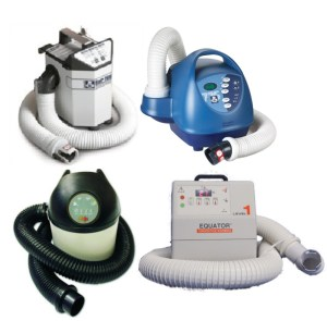 4 different compatible warming units